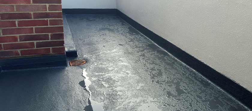 Uitzonderlijk Betonnen balkon waterdicht maken - Hout Beton Steen Impregneren BQ04