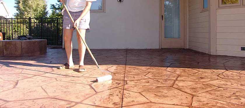 Betonnen terras waterdicht maken beton impregeneren for Huis waterdicht maken