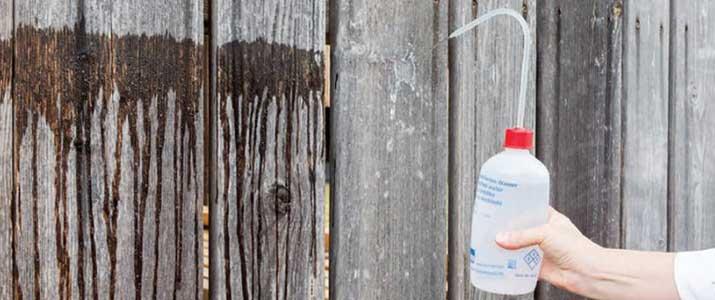 hout impregneren - hout waterafstotend maken door impregneren - 17 jaar beschermd