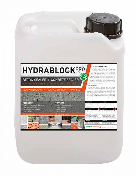 Hydrablock Pro - beton impregneermiddel beton waterdicht maken terras waterdicht maken
