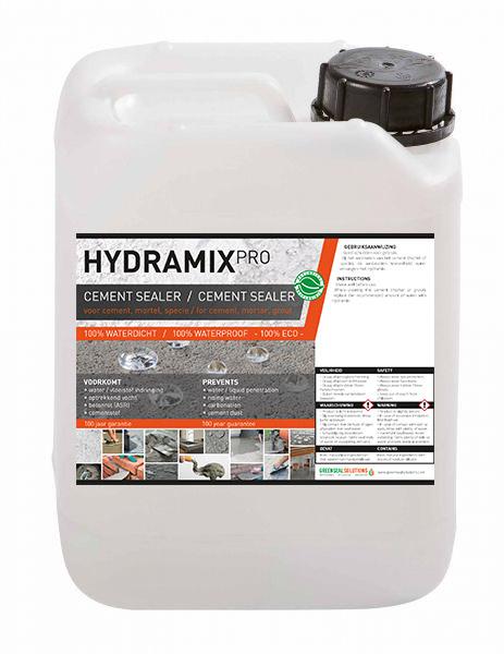 Hydramix Pro - cement mortel specie impregneermiddel
