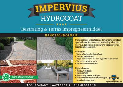 Impervius Hydrocoat - bestrating en terras impergneermiddel