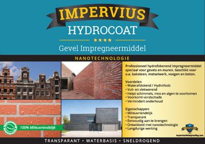 Impervius HydroCoat - Gevel impregneermiddel