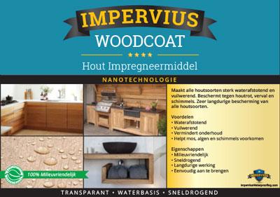 Impervius Woodcoat - Hout impregneermiddel