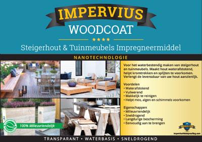 Impervius WoodCoat - Steigerhout en Tuinmeubels impregneermiddel
