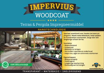 Impervius WoodCoat - terras en pergola impregneermiddel
