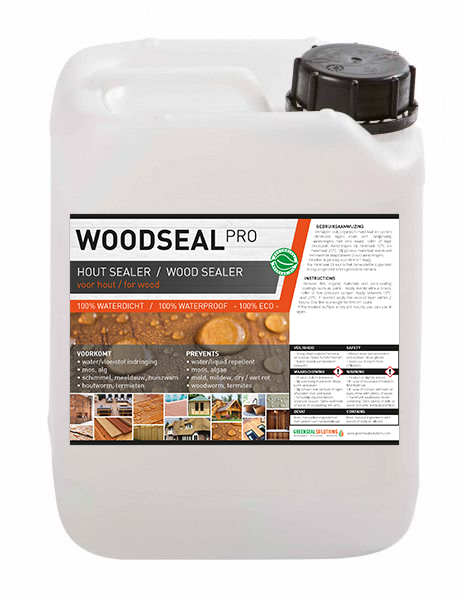 Woodseal Pro hout impregneren woodseal hout impregneermiddel